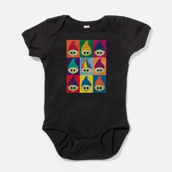 Troll Block 3x3 Rainbow Infant Bodysuit Body Suit