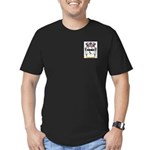 Nickusch Men's Fitted T-Shirt (dark)