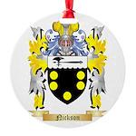 Nickson Round Ornament