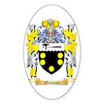 Nickson Sticker (Oval 50 pk)