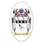 Nickols Sticker (Oval)