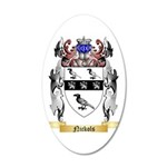 Nickols 35x21 Oval Wall Decal