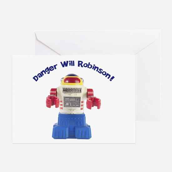 Danger Will Robinson Greeting Card