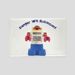 Danger Will Robinson Rectangle Magnet