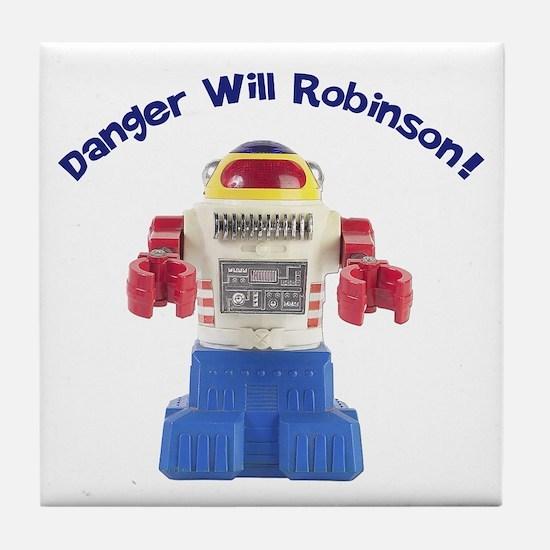 Danger Will Robinson Tile Coaster