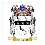 Nickolaus Square Car Magnet 3