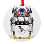Nickol Round Ornament
