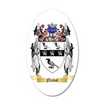 Nickol 35x21 Oval Wall Decal