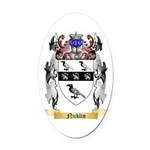 Nicklin Oval Car Magnet