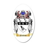 Nickless 35x21 Oval Wall Decal