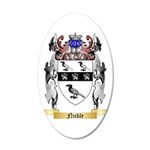 Nickle 35x21 Oval Wall Decal