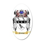 Nicklas 35x21 Oval Wall Decal