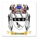 Nickisson Square Car Magnet 3