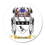 Nickisson Round Car Magnet