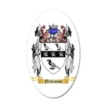 Nickisson 20x12 Oval Wall Decal
