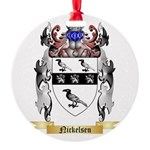 Nickelsen Round Ornament