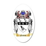 Nickels 35x21 Oval Wall Decal