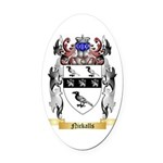 Nickalls Oval Car Magnet