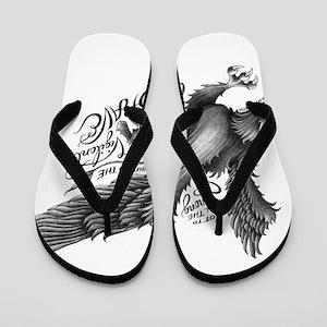 Griffin (black) Flip Flops