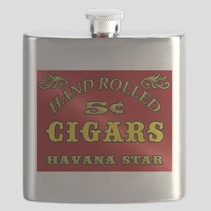 Vintage style Cigar Sign Flask