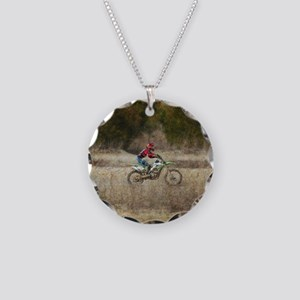 Dirt Bike Riding Necklace
