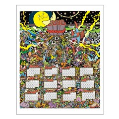 2018 Psychedelic Calendar Posters Posters
