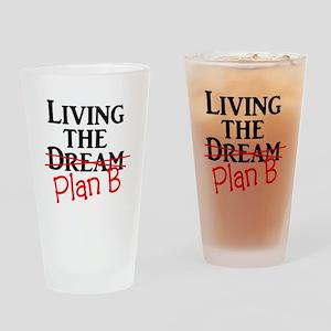 Plan B Drinking Glass