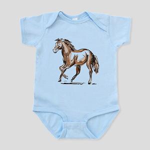 Horse sketch Body Suit