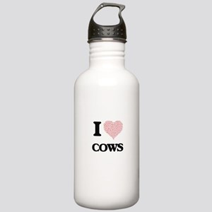 I love Cows (Heart Mad Stainless Water Bottle 1.0L
