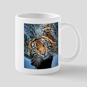 Tiger in Water Mugs