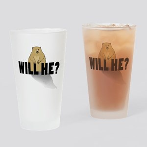Will He? Drinking Glass