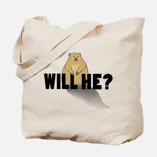 Will He? Tote Bag