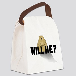 Will He? Canvas Lunch Bag