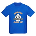 Halloween Scary Face Kids Dark T-Shirt