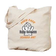 Halloween Scary Face Tote Bag