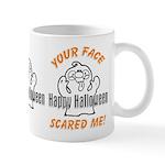 Halloween Scary Face Mug