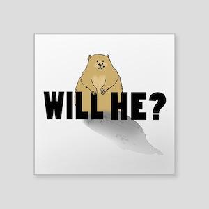 Will He? Sticker