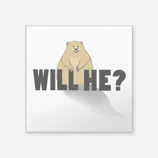 Will He? Sticker