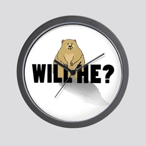 Will He? Wall Clock