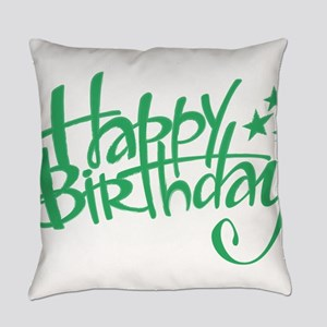Happy birthday Everyday Pillow