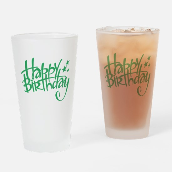 Happy birthday Drinking Glass
