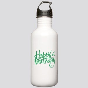 Happy birthday Sports Water Bottle