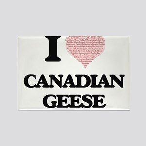 I love Canadian Geese (Heart Made from Wor Magnets
