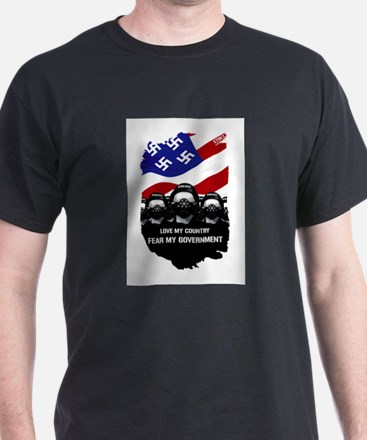 Fear the Governmen T-Shirt