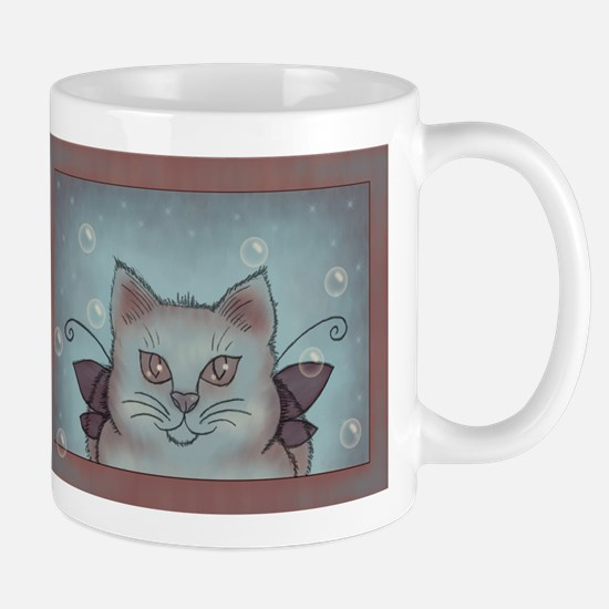 Bubble Cat Stainless Steel Travel Mugs