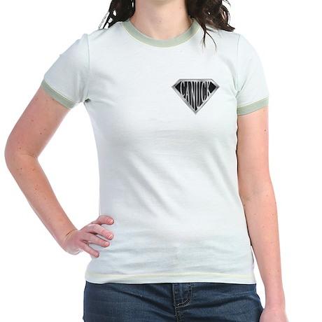 SuperCanuck(metal) Jr. Ringer T-Shirt
