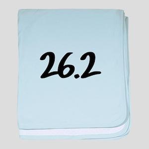 26.2 baby blanket