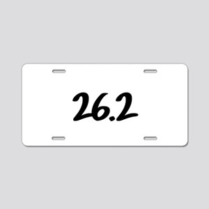 26.2 Aluminum License Plate