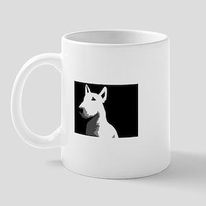 Bull Terrier Art Mug