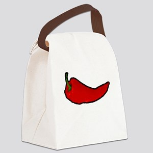 Impressionist Pepper Canvas Lunch Bag